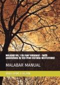 MALABAR MANUAL  (in 4 Volumes) Vol 1