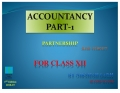 ACCOUNTANCY PART-1