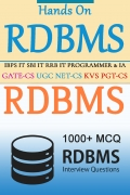 Hands On Relational Database Management System - 1000+ MCQ