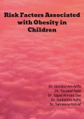 Risk Factors Associated with Obesity in Children