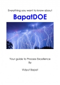 BapatDOE - Your guide to Process Excellence