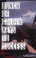 Bunch of Golden keys to success