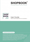 Shopbook Accounting, Billing and Inventory Software User Guide (Free Download Shopbook from www.shopbook.co)