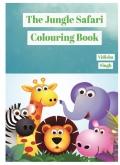 the jungle safari colouring book