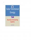 Solar Functional Energy