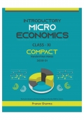 Introductory Microeconomics for Class XI: Compact Handwritten Notes( Sample Book) (eBook)