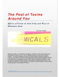 The Pool of Toxins Around You (eBook)