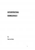 Interpreting Democracy