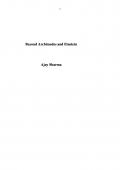 BEYOND ARCHIMEDES AND EINSTEIN (eBook)