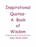 Inspirational  Quotes-    Author -Divyesh  Kothari