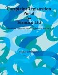 Complaint Registration Portal