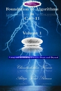 Foundation of Algorithms in C++11, Volume 1(Third Edition)
