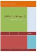 GAMSAT - Biology - 01