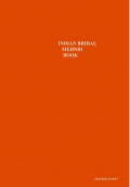INDIAN BRIDAL MEHNDI BOOK
